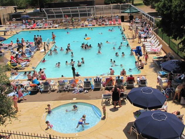 Lubbock Tx Pool Tennis Courts Lakeridge Country Club